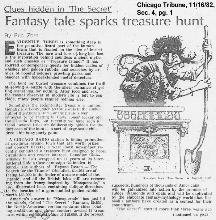 How To Write A Newspaper With Stories For Treasure Island